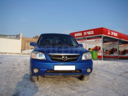 Mazda Tribute 2003 - отзыв владельца
