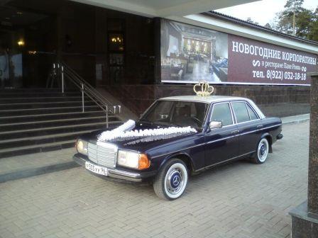Mercedes-Benz E-Class 1976 - отзыв владельца