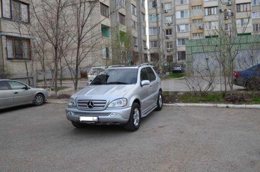 Mercedes-Benz M-Class 2004 - отзыв владельца
