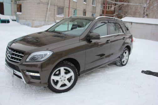 Mercedes-Benz M-Class 2013 - отзыв владельца