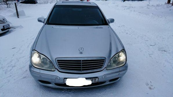 Mercedes-Benz S-Class 2001 - отзыв владельца