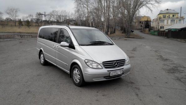 Mercedes-Benz Viano 2004 - отзыв владельца