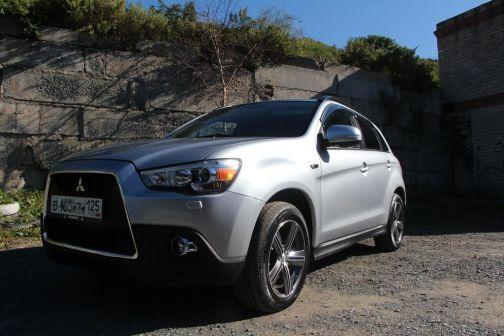 Mitsubishi ASX 2012 - отзыв владельца