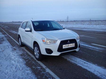 Mitsubishi ASX 2013 - отзыв владельца