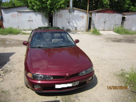 Mitsubishi Galant 1993 - отзыв владельца