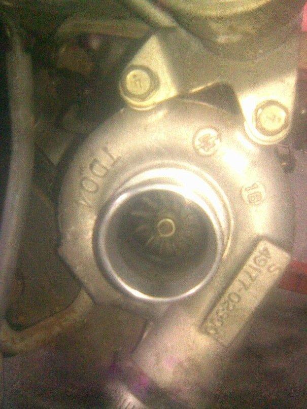 две турбины TD-04