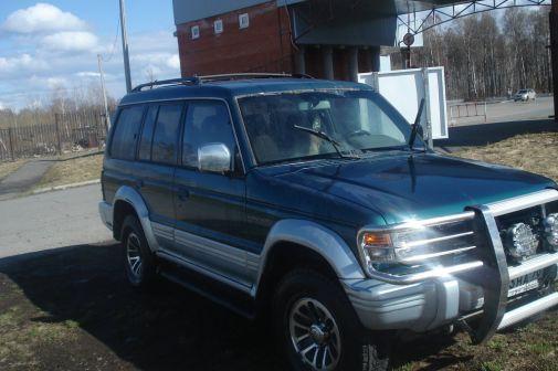 Mitsubishi Montero 1994 - отзыв владельца