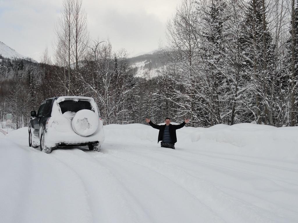 Перегон Бодайбо - Красноярск (перевал Дабан)