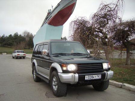 Mitsubishi Pajero 1994 - отзыв владельца