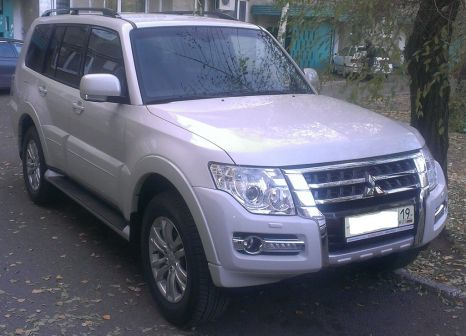 Mitsubishi Pajero 2014 - отзыв владельца