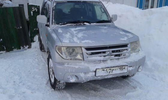 Mitsubishi Pajero iO  - отзыв владельца