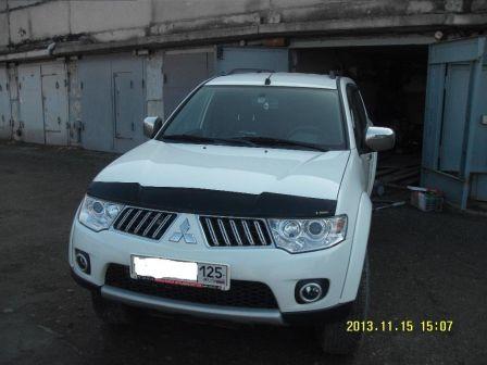 Mitsubishi Pajero Sport 2012 - отзыв владельца