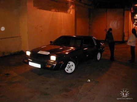 Mitsubishi Starion 1982 - отзыв владельца
