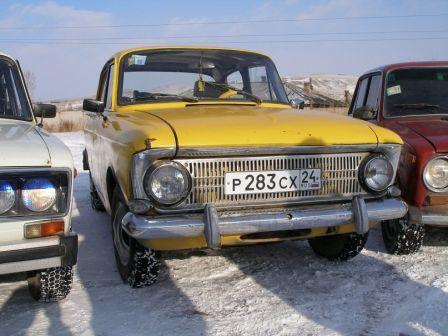 Москвич Москвич 1981 - отзыв владельца