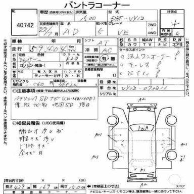 Nissan AD 2010 отзыв автора | Дата публикации 27.09.2014.