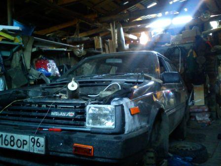 Nissan AD 1989 - отзыв владельца