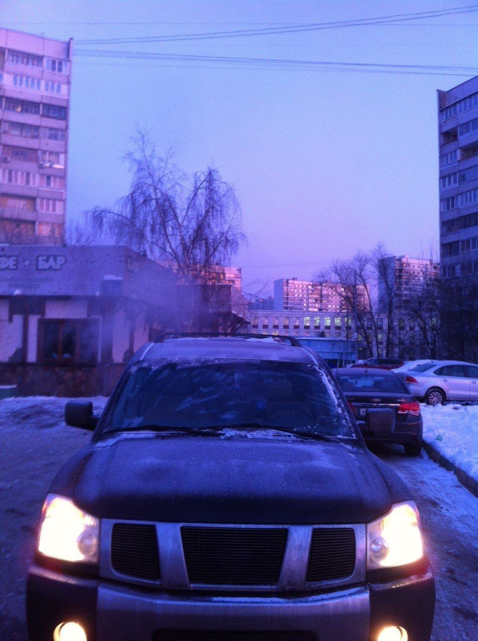 Прекрасное зимнее утро.