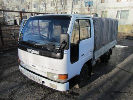 Nissan Atlas 1993 - отзыв владельца