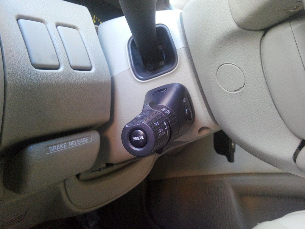 Управление на рулевой колонке