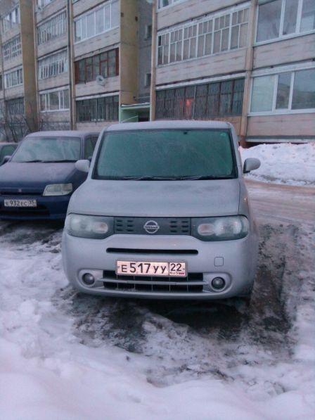 Nissan Cube 2009 - отзыв владельца