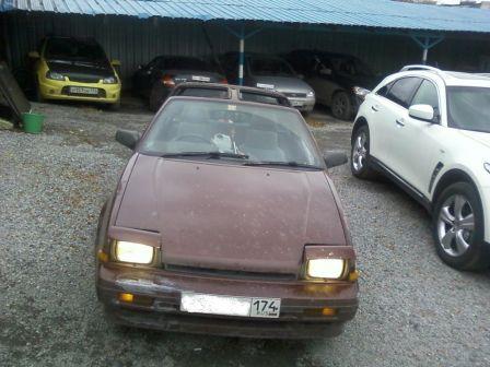 Nissan Exa 1989 - отзыв владельца