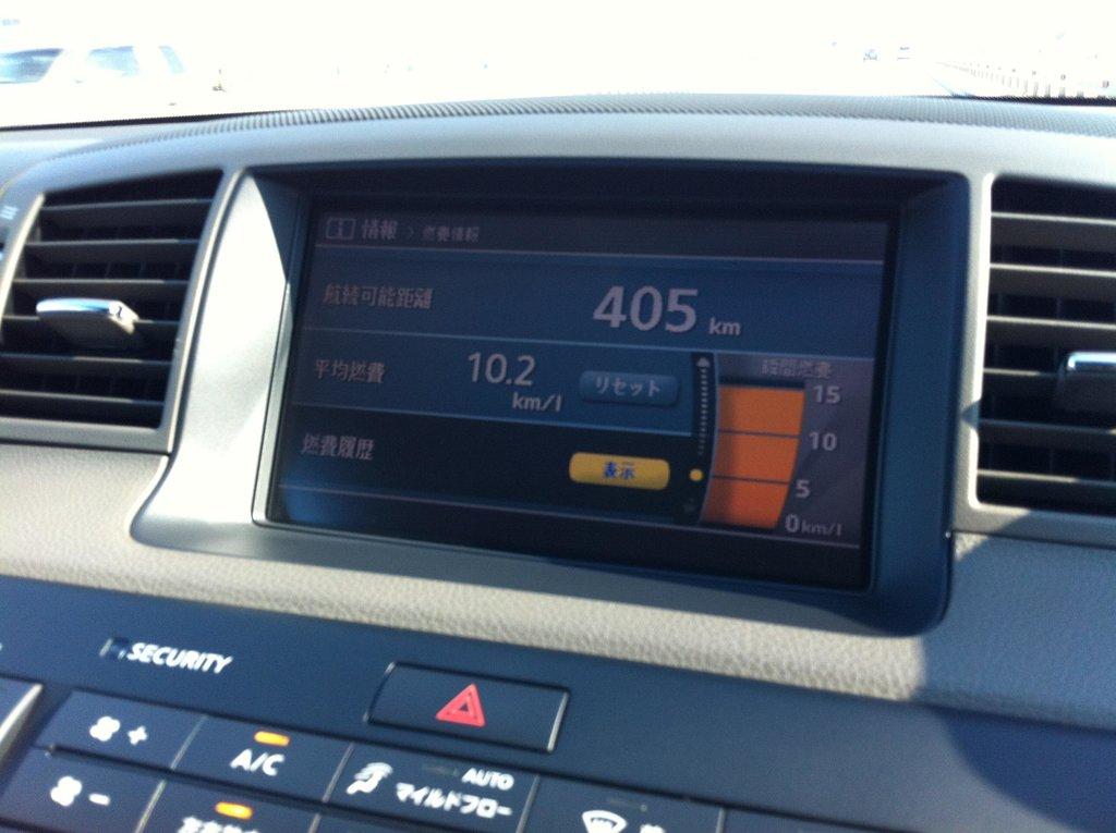 Расход по трассе при средней скорости 100-120 км/ч.
