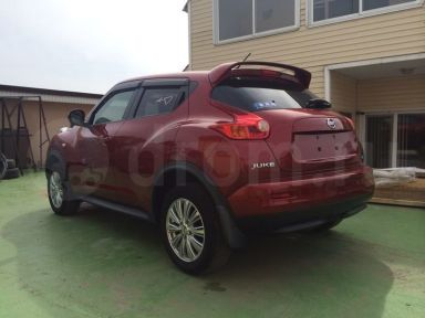 Nissan Juke 2011 отзыв автора | Дата публикации 19.10.2014.