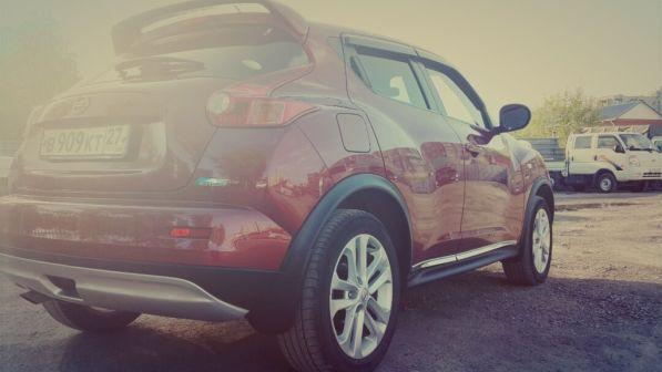 Nissan Juke 2012 - отзыв владельца