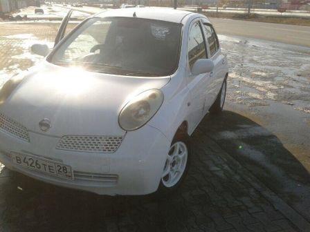 Nissan March 2002 - отзыв владельца