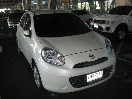 Nissan March 2013 - отзыв владельца