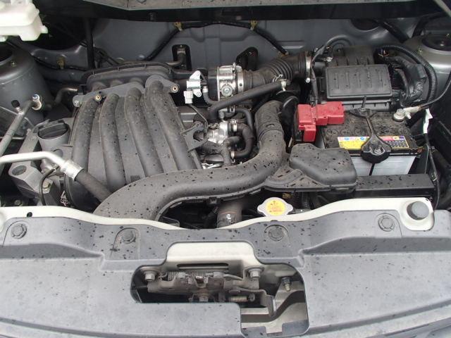 Двигатель HR16DE по городу его вполне хватает. По трассе пока не ездил.