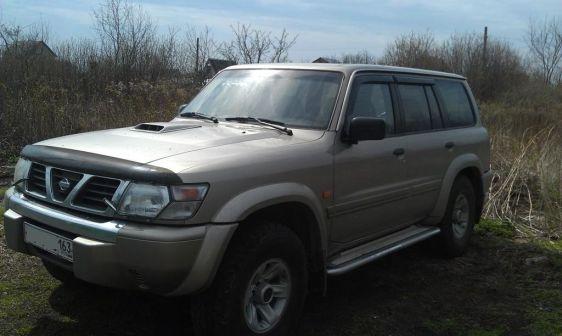 Nissan Patrol 2002 - отзыв владельца