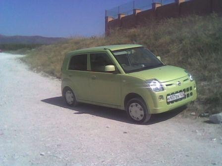 Nissan Pino 2007 - отзыв владельца