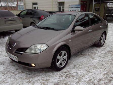 Nissan Primera 2007 - отзыв владельца