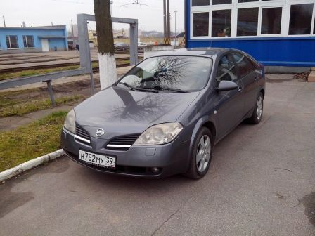 Nissan Primera 2002 - отзыв владельца