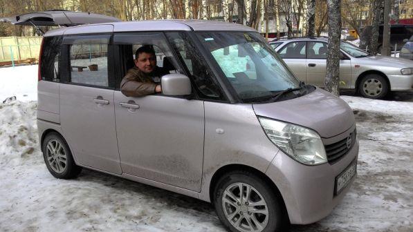 Nissan Roox 2010 - отзыв владельца