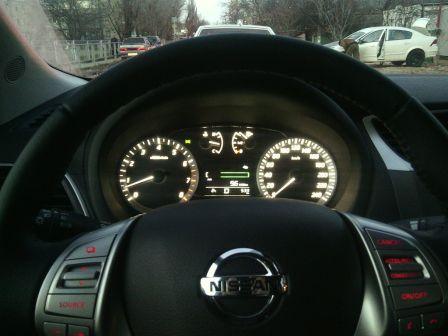 Nissan Sentra 2014 - отзыв владельца