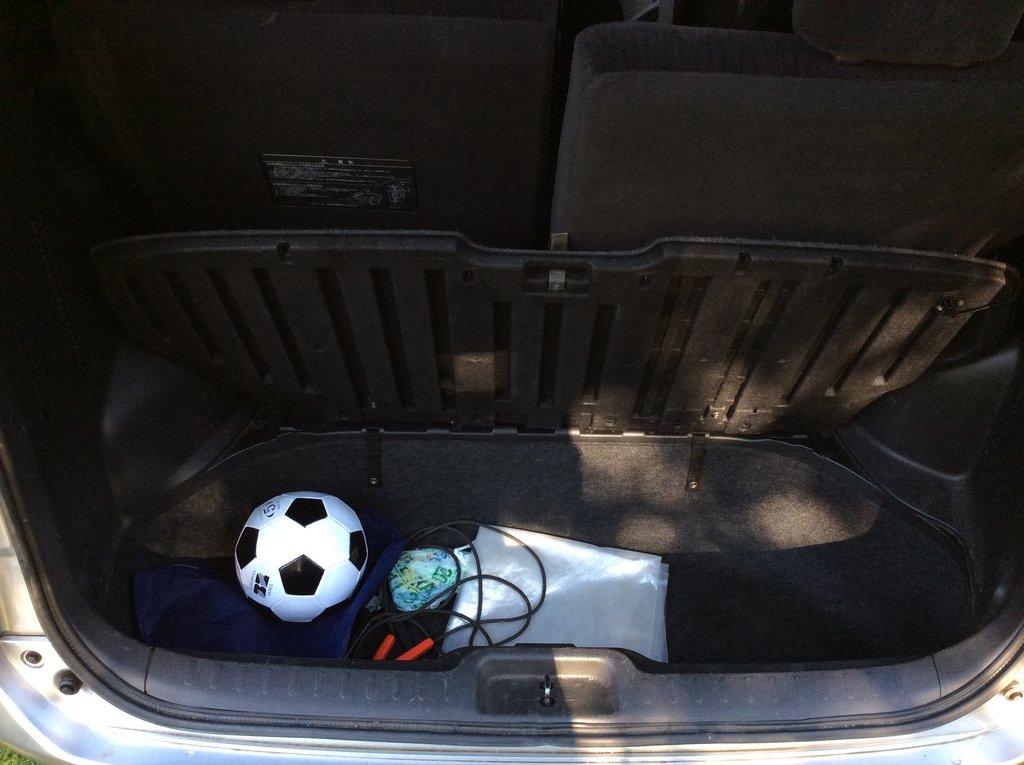 Багажник в полике
