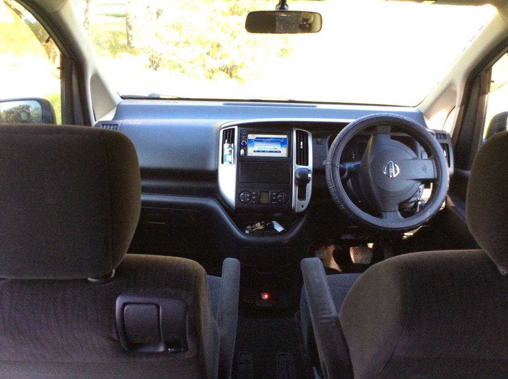 Место водителя и пассажира