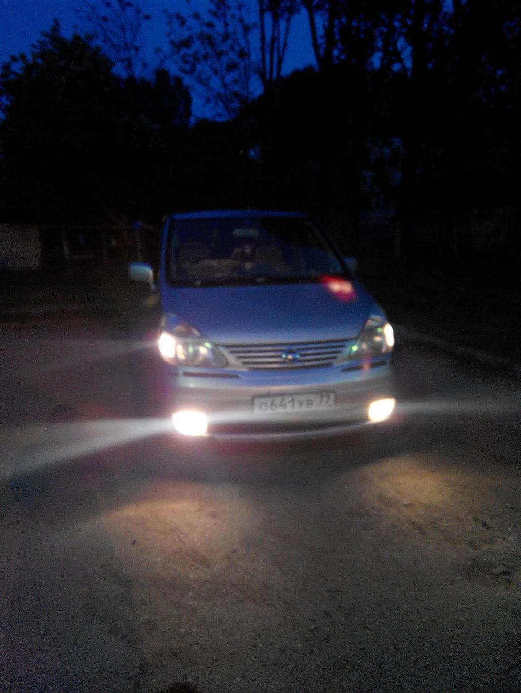 Ставил новые лампочки :)