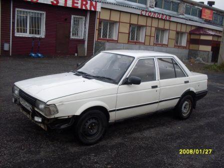 Nissan Sunny 1988 - отзыв владельца