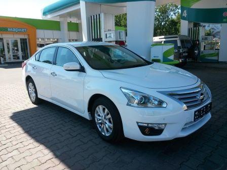 Nissan Teana 2014 - отзыв владельца