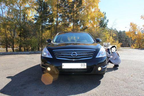 Nissan Teana 2013 - отзыв владельца