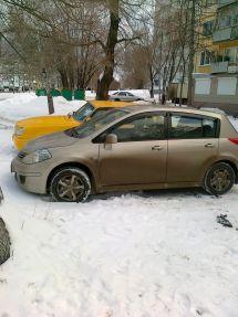 Nissan Tiida, 2010