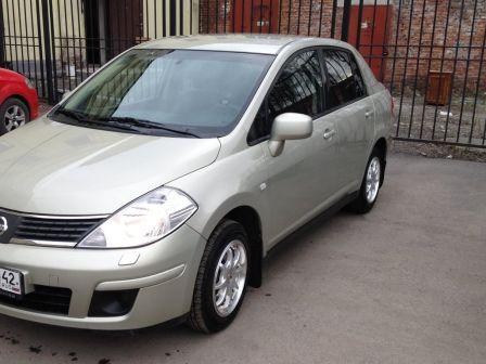 Nissan Tiida 2007 - отзыв владельца