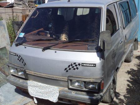 Nissan Vanette 1984 - отзыв владельца
