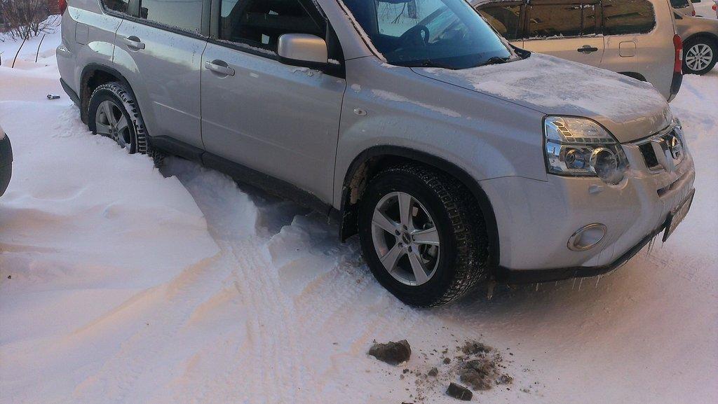 Проблемы с парковкой зимой? Я Вас умоляю! :)