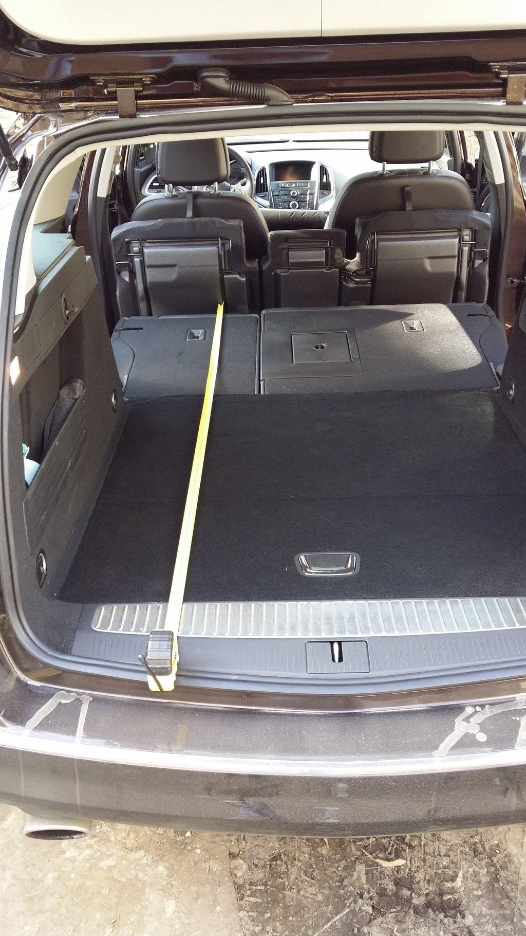 Объём багажника опель астра j