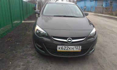 Opel Astra 2012 отзыв автора | Дата публикации 07.02.2014.