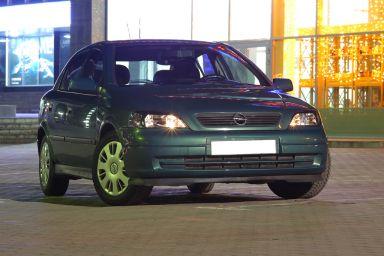 Opel Astra 2003 отзыв автора | Дата публикации 16.12.2014.
